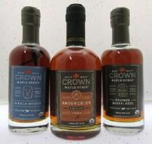 Crown Maple Syrup Bourbon Vanilla 375mL`