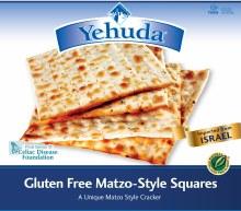 Gluten Free Yahuda Matzo Squares