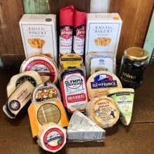 Dahlia & Sage-Meat & Cheese gift bag valued at $150.