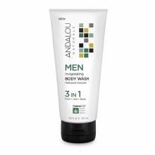 Andalou Men's Invigorating Bodyy Wash 8.5 oz