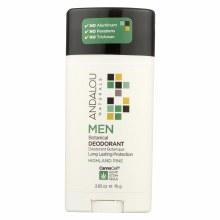 Andalou Men's Highland Pine Deodorant 2.65 oz