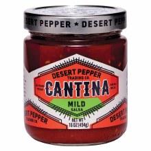 Desert Pepper Cantina Mild Salsa 16oz