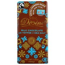 Divine Milk Choc. Toffee Sea Salt