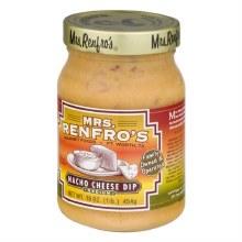 Mrs. Renfros Nacho Cheese Dip 16 oz