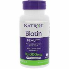 Natrol Biotin 10k mg/100 tabs