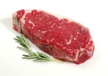 Beef: Creekstone New York Strip Steak 10 oz
