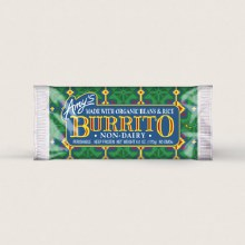 Amy'a Organic Non Dairy Bean & Rice Burrito 6 oz
