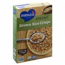 Barbaras Organic Brown Rice Crisps Cereal