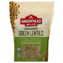Arrowhead Mills Organic Green Lentils 16 oz