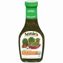 Annie's Organic Oli and Vinegar 8 oz