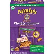 Annie's Organic Cheddar Bunnies (12/1 oz packs)