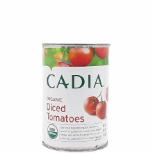 Cadia Organic Diced Tomatoes 15 oz