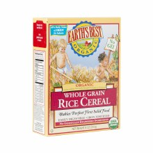 Earth's Best Organic Whole Grain  Rice Cereal 8 oz