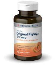 American Health Original Papaya Enzyme 250 tabs