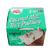 Sun Tropics Original Coconut Rice Pudding 2/8.46 oz cups
