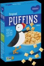 Barbara's organic original puffins cereal 10oz