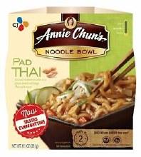 Annie Chun's Pad Thai Noodle Bowl 8.1 oz