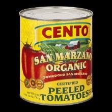 Cento Organic Peeled Tomatoes 28 oz