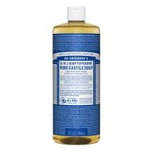 Dr Bronners Peppermint liquid soap 24 oz