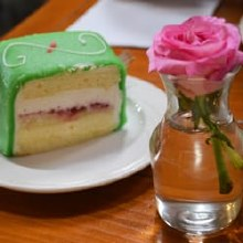 Costeaux Bakery Princess Cake Slice