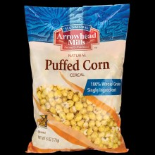 Arrowhead Mills Puffed Corn Cereal 6oz