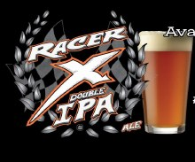 Bear Republic Racer X Double IPA 4 pack 16 ounce cans