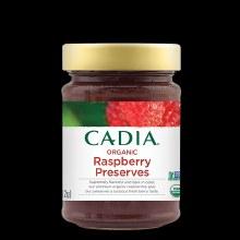 Cadia Organic Rasberry Preserve 11oz