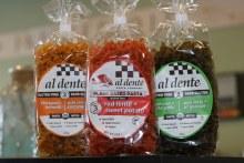 Al Dente Red Lentil+Sweet Potato Plant Based Pasta 8 oz