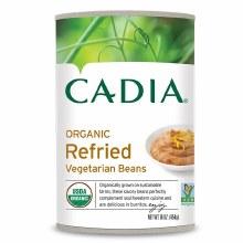Cadia Organic Vegetarian Refried Beans 16 oz