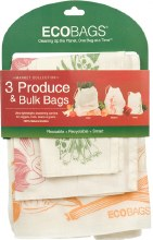 Eco Bags Reusable Produce Bags 3 packs (sm. med. and lrge)
