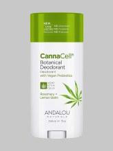 Andalou CannaCell Rosemary+Lemon Deodorant 2.65 oz