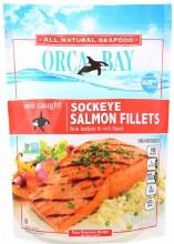 Orca Bay Alaska Sockeye Fillets 10 oz bag