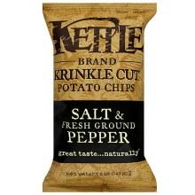 Kettle Brand Salt and Pepper Chips 5oz