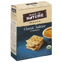 Back to Nature Classic Saltine Cracker 7 oz