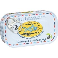 Bela Sardines in Olive Oil 4.25 oz