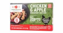 Applegate Naturals Frozen Chicken Apple Sausages 7oz