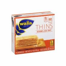 Wasa Sesame & Sea Salt Thins 6.7 oz