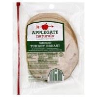Applegate Sliced Smoked Turkey Breast 6 oz