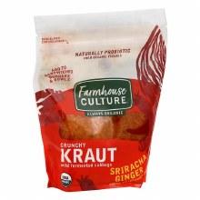 Farmhouse Culture Sriracha Ginger Kraut 16 oz