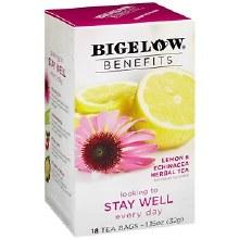 Bigelow Benefits Stay Well Tea 18 bags