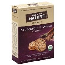 Back to nature Stoneground Wheat Cracker