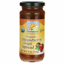 Bionature Organic Strawberry Fruit Spread 9oz