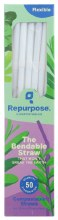 Compostable Bendable Straws 50ct