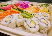 Fresh Sushi Platter - Ready for Monday Night Dinner!