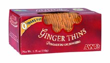 Annas Ginger Swedish Cookie Thins 5.25 oz