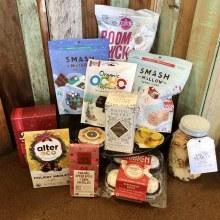 Dahlia& Sage-Sweets & Treats Gift bag valued at $100.