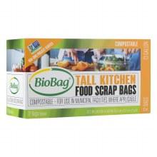 Biobag tall kitchen food scraps bags 12 pack/13 gal. bags