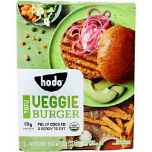 Hodo Tofu Veggie Burgers 2/4 oz patties