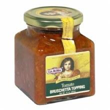 Gia Russa Tomato Bruschetta Topping Gluten Free-Vegan 10 oz