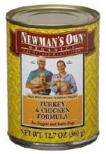 Newman's Own Turkey & Chicken Dog Food